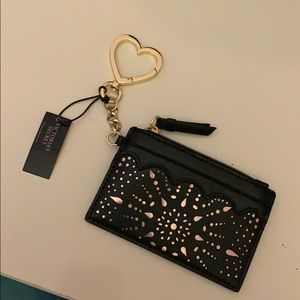 NWT Victoria's secret keychain wallet.